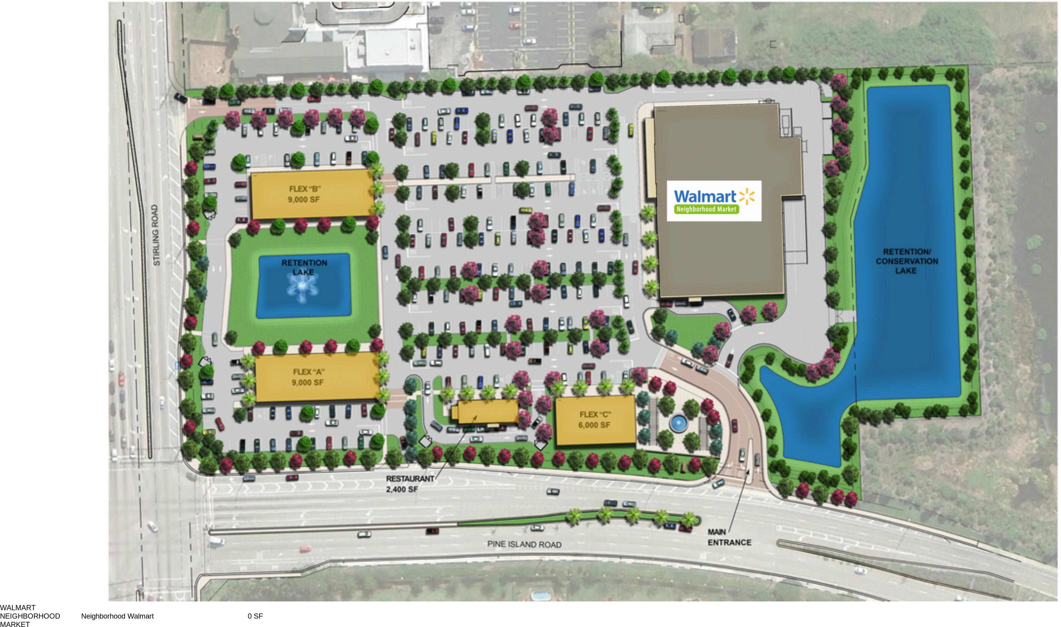 Davie Fl Fl Pine Island Marketplace Retail Space For Lease