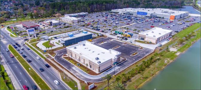 Past Projects: Collins Plaza Walmart Supercenter