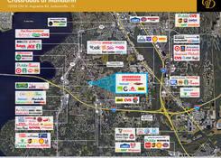 FL. Crossroads at Mandarin : Competition Map