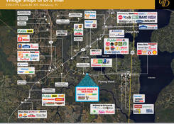 FL. Village Shoppes at Doctors Inlet : Competition Map