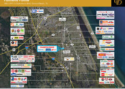 Past Projects: Port Orange - Palmetto Pointe: Competition Map