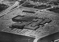 MN. Shingle Creek Crossing: Old Brookedale Mall in 1952.