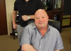 GDC Headquarters: Frank C Gatlin III and Frankie C Gatlin IV at the Gatlin Development Headquarters in Jacksonville Florida